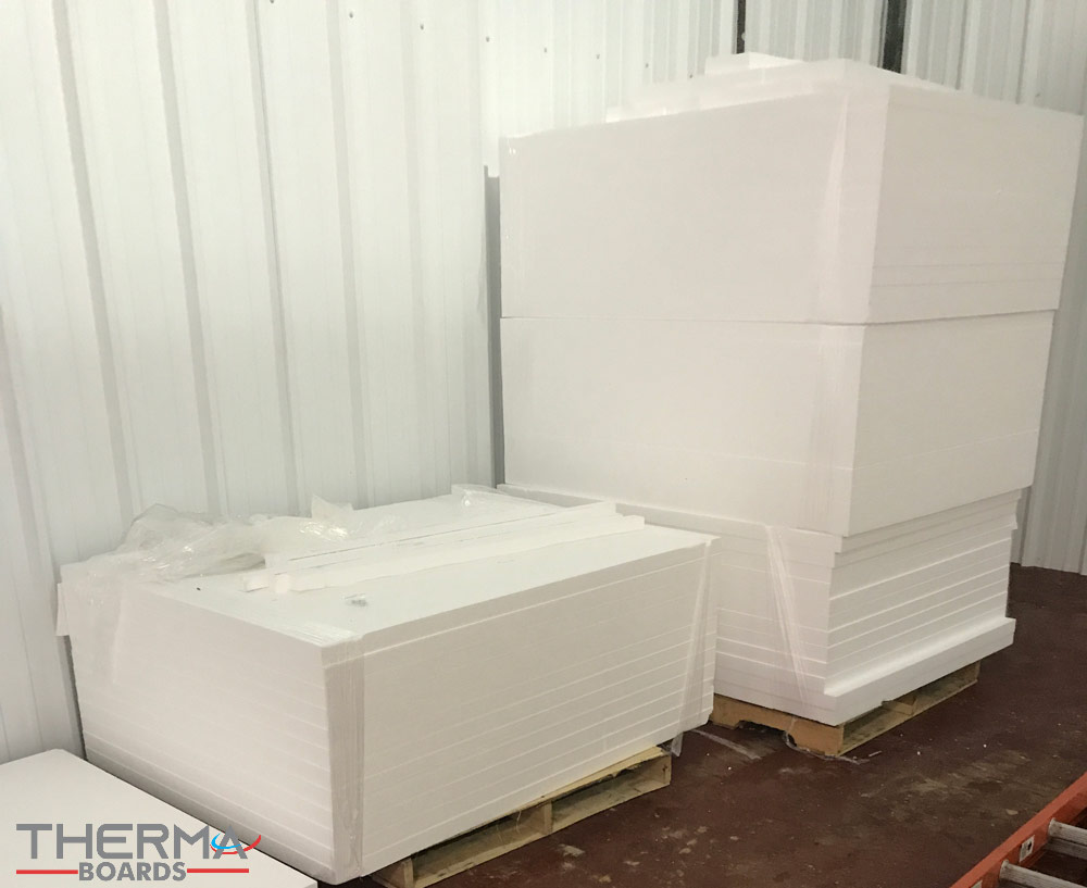 Polystyrene Blocks are Used as Building Materials | Thermaboards