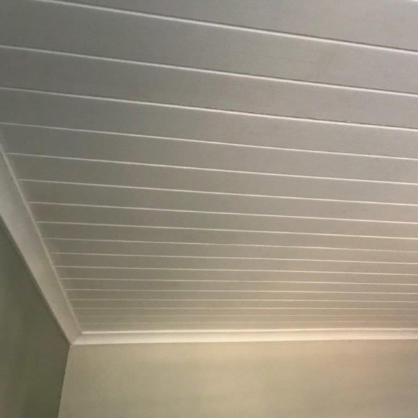 ISO Boards Over Repaired Ceiling | Thermaboards
