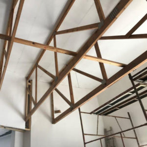Ceiling Boards Installed at Primi Patti | Thermaboards
