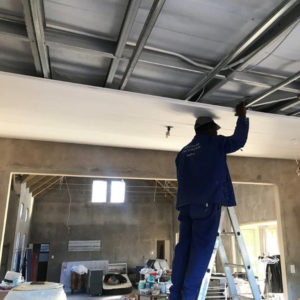 Installation of XPS Ceiling Boards | Thermaboards
