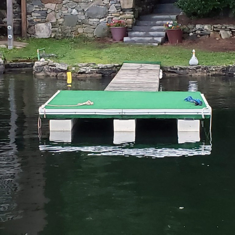 Polystyrene Used for a Jetty | Thermaboards